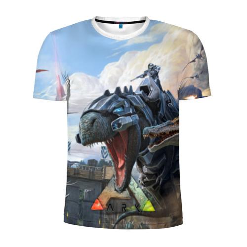 Мужская футболка 3D спортивная Ark Survival Evolved