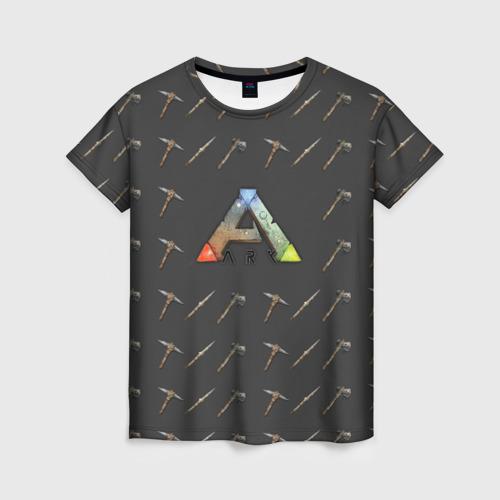 Женская футболка 3D Ark Survival Evolved