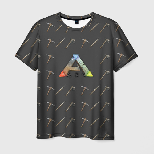 Мужская футболка 3D Ark Survival Evolved