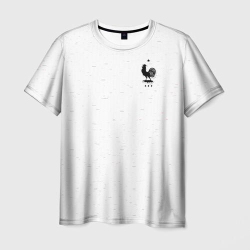 Мужская футболка 3D France WC 2018