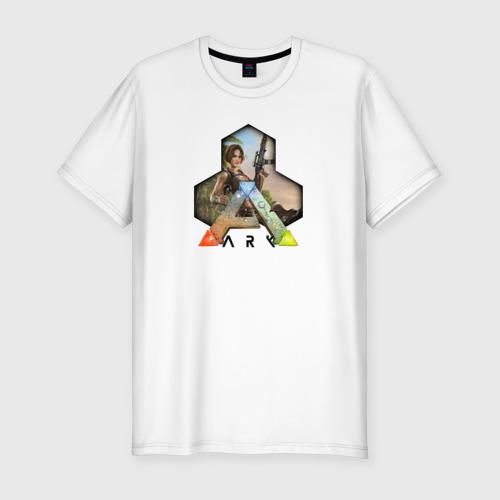 Мужская футболка хлопок Slim Ark Survival Evolved
