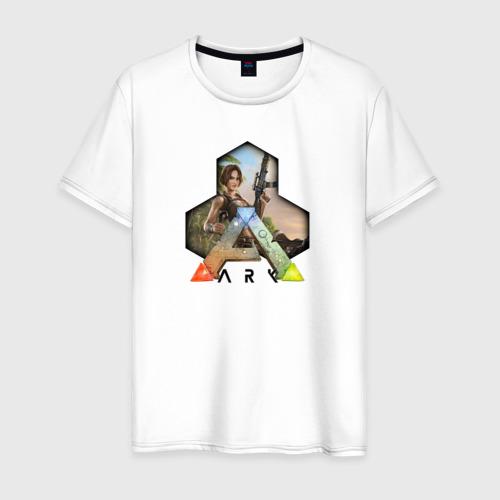 Мужская футболка хлопок Ark Survival Evolved