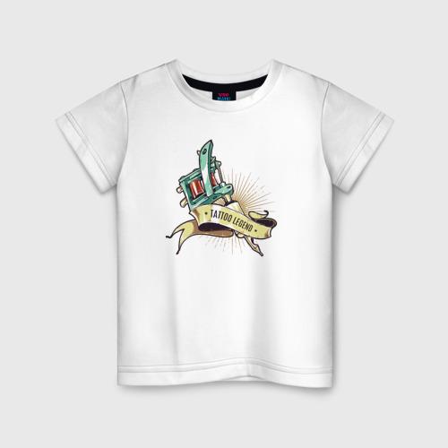 Детская футболка хлопок Татуировщик