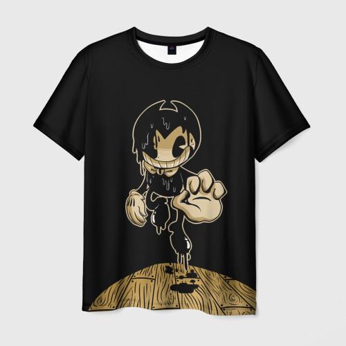 Мужская футболка 3D Bendy and the ink machine (29)