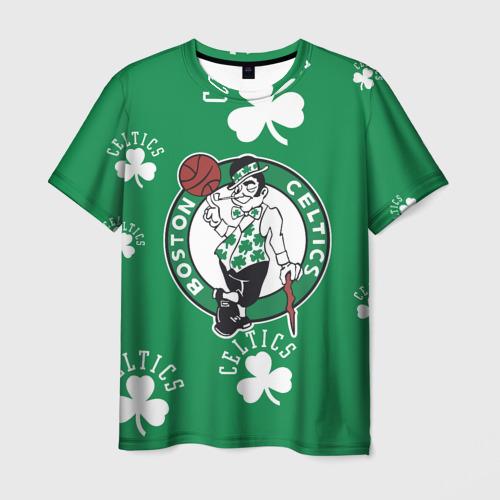 Мужская футболка 3D Boston celtics, nba