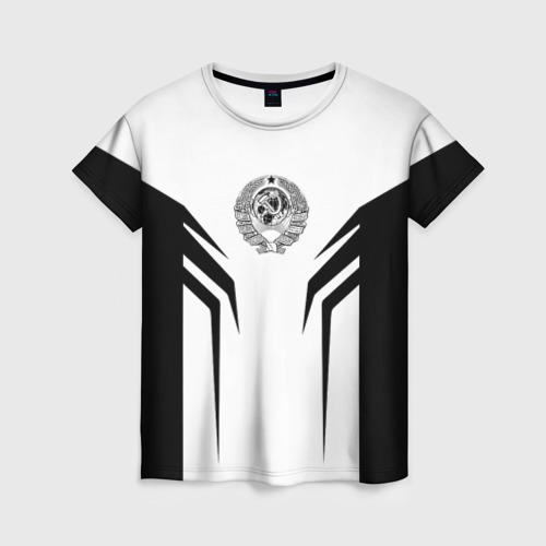 Женская футболка 3D СССР,