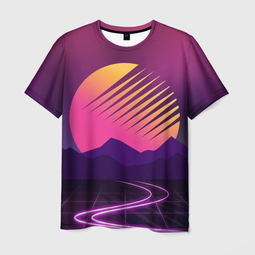 Мужская футболка 3D Digital Art