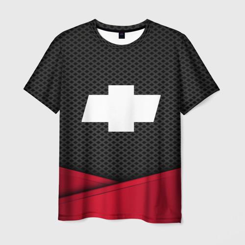 Мужская футболка 3D CHEVROLET
