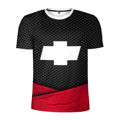 Мужская футболка 3D спортивная CHEVROLET