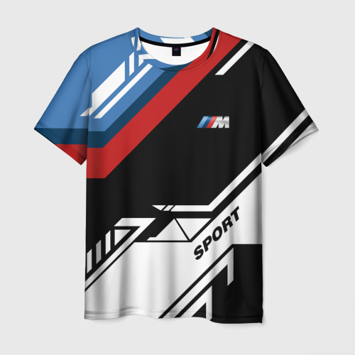 Мужская футболка 3D BMW | БМВ
