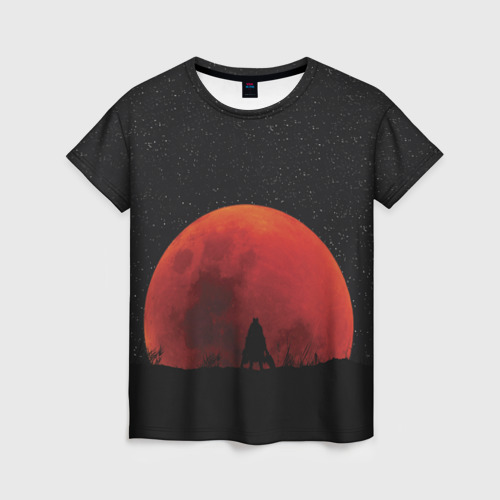 Женская футболка 3D Bloodborne