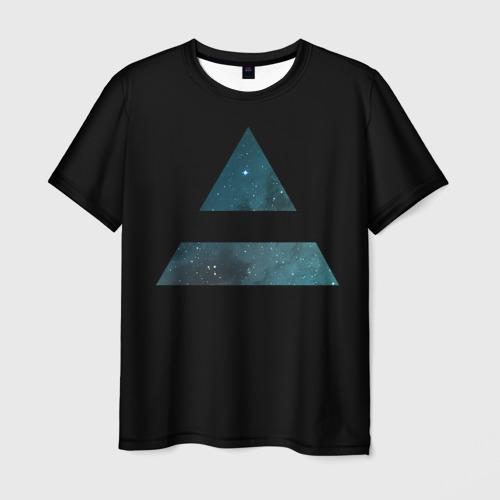Мужская футболка 3D Space Mars