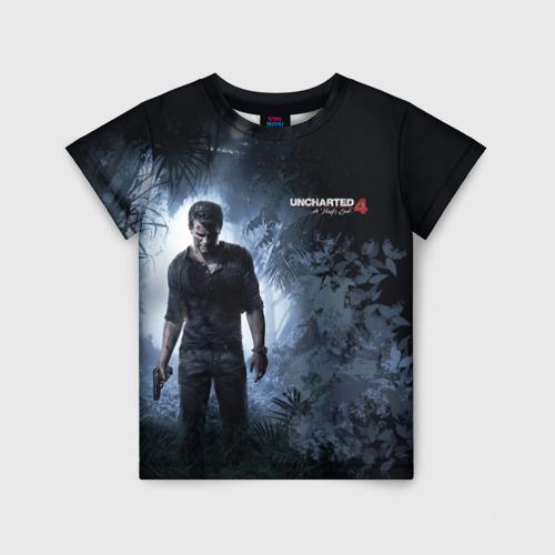 Детская футболка 3D Drake in jungle
