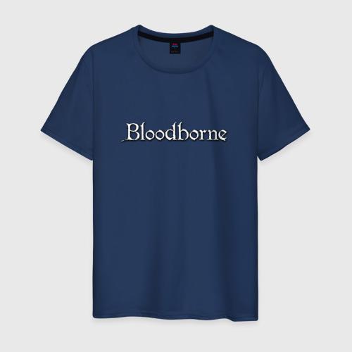 Мужская футболка хлопок bloodborne