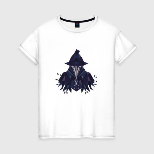 Женская футболка хлопок Bloodborne
