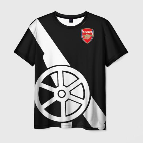 Мужская футболка 3D Arsenal Exclusive