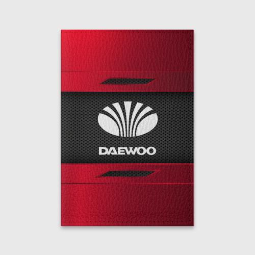 Обложка для паспорта матовая кожа DAEWOO SPORT