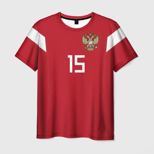 Мужская футболка 3D Алексей Миранчук