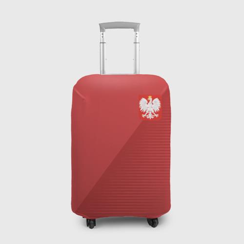 Чехол для чемодана 3D Польша форма гостевая 2018