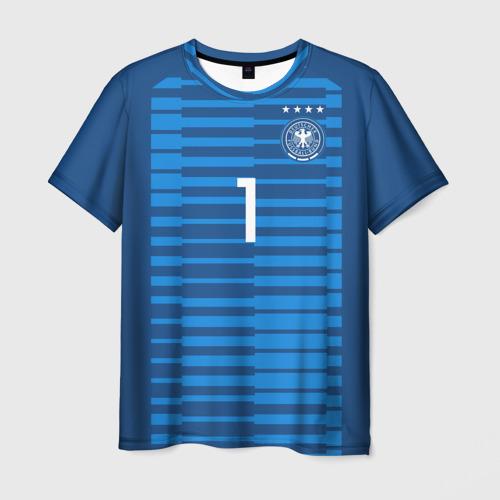 Мужская футболка 3D Neuer WC 2018
