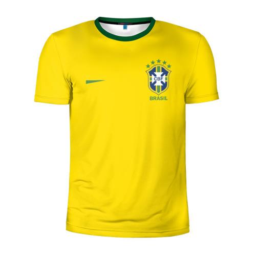 Мужская футболка 3D спортивная Сборная Бразилии