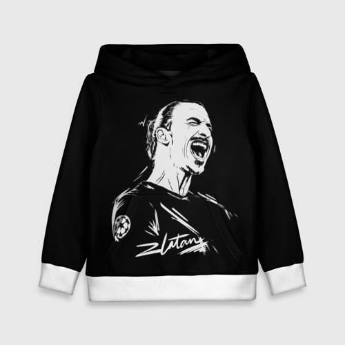 Детская толстовка 3D Zlatan Ibrahimovic