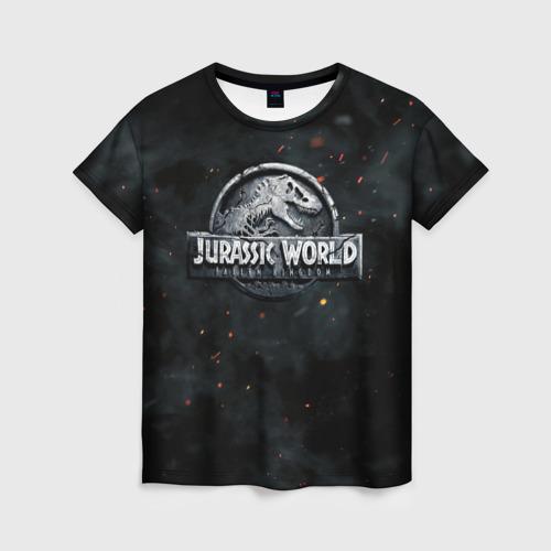 Женская футболка 3D Мир Юрского Периода