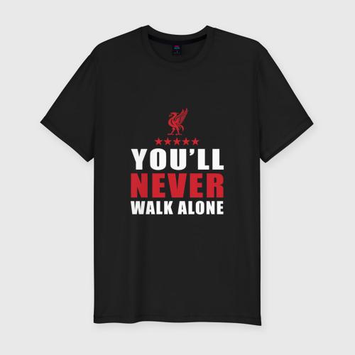 Мужская футболка хлопок Slim Liverpool FC