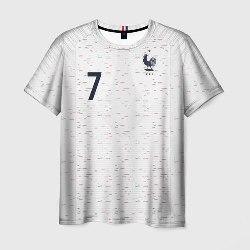 Мужская футболка 3D Griezmann away WC 2018