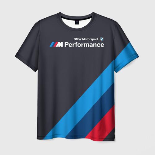 Мужская футболка 3D BMW Performance