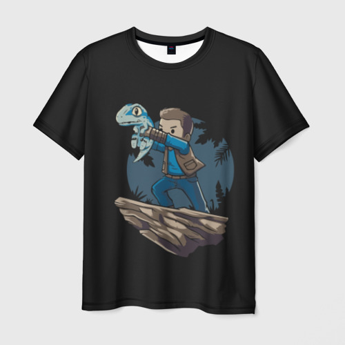 Мужская футболка 3D Nick and Blue