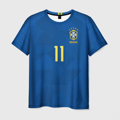 Мужская футболка 3D Coutinho away WC 2018