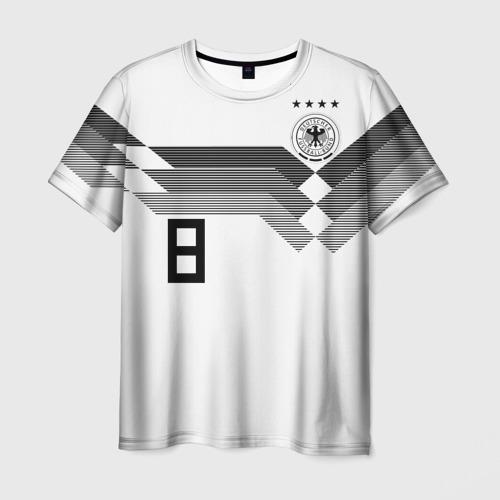 Мужская футболка 3D Kroos home WC 2018