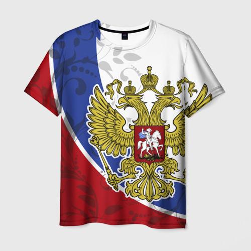 Мужская футболка 3D Россия Спорт