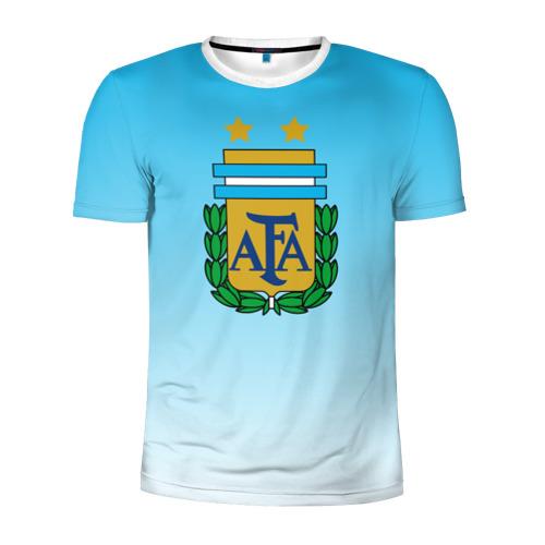Мужская футболка 3D спортивная Сборная Аргентина