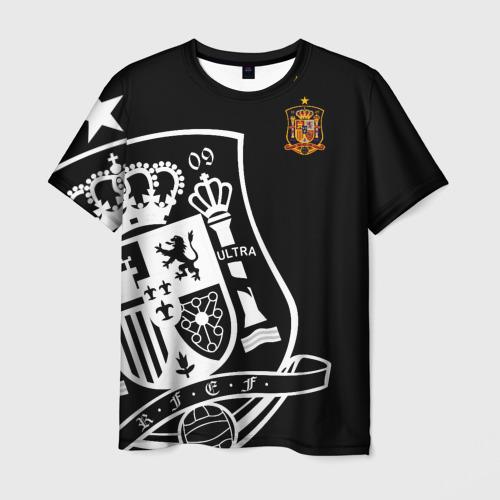 Мужская футболка 3D Сборная Испании Exclusive