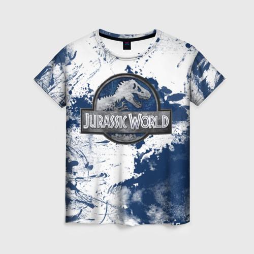 Женская футболка 3D Jurassic World