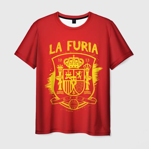 Мужская футболка 3D Сборная Испании