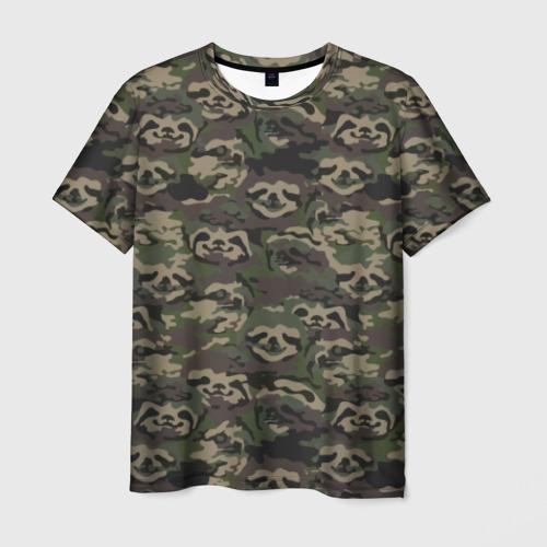 Мужская футболка 3D Лига лени