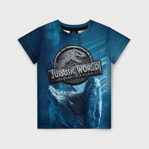 Детская футболка 3D Мир Юрского Периода