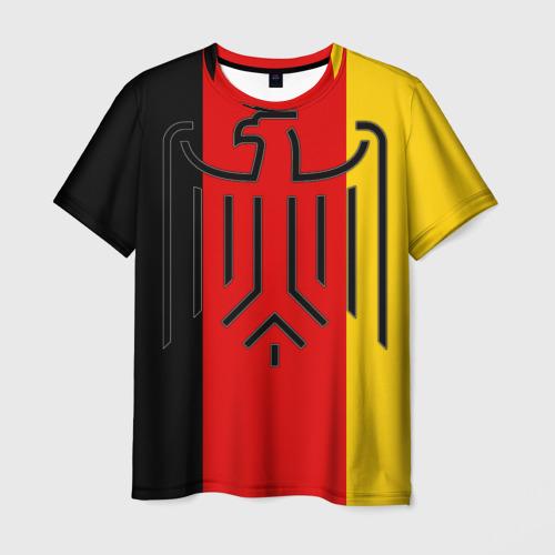 Мужская футболка 3D German eagle