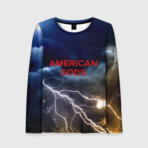 Женский лонгслив 3D American Gods