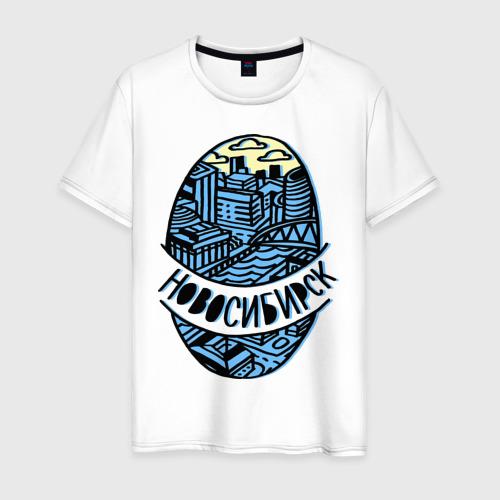 Мужская футболка хлопок Новосибирск