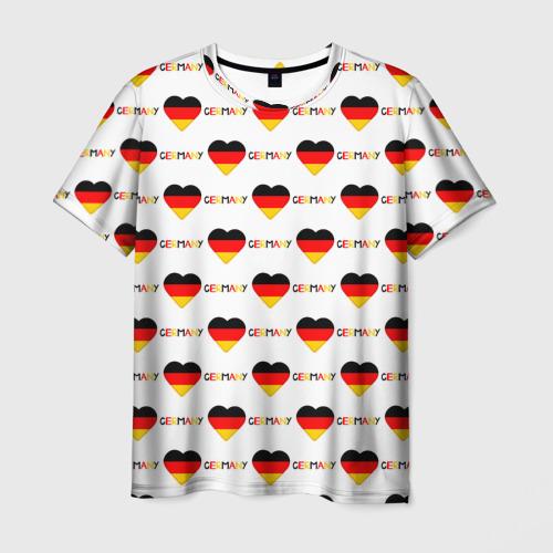 Мужская футболка 3D Love Germany