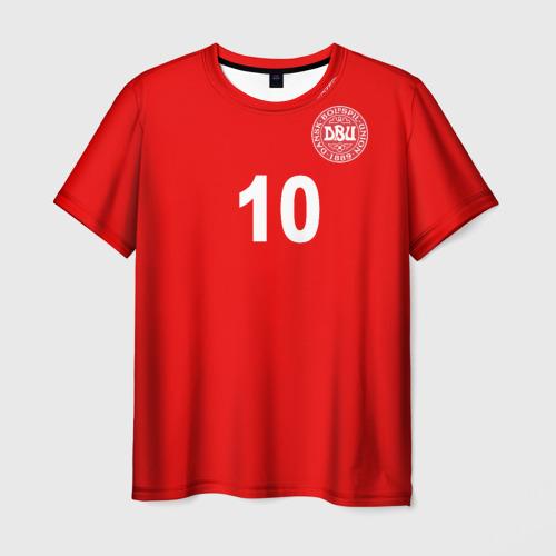 Мужская футболка 3D Эриксен ЧМ 2018