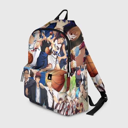 Рюкзак 3D Kuroko no Basket паттерн