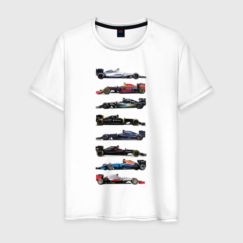 Мужская футболка хлопок Формула 1