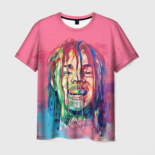 Мужская футболка 3D PINK 69
