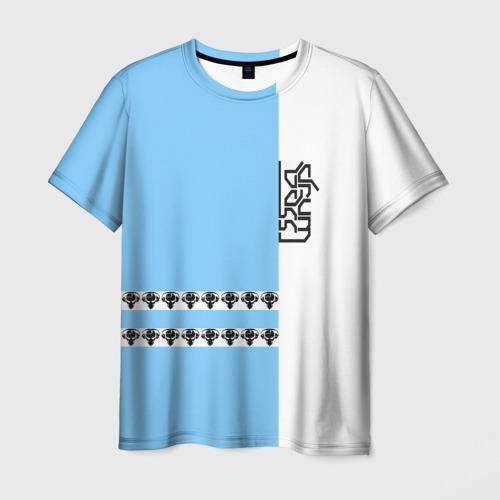 Мужская футболка 3D Drum and bass