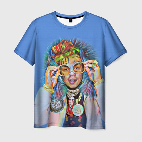 Мужская футболка 3D 6IX9INE SWAG